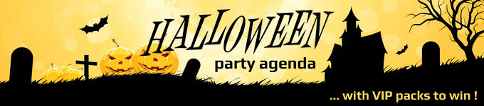 Halloween party agenda