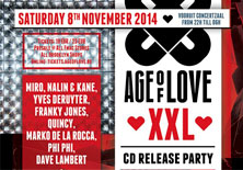 Age Of Love XXL | Vooruit - 08/11/2014