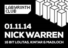 Nick Warren | Labyrinth Club - 01/11/2014