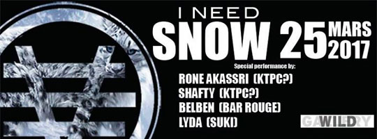 I NEED SNOW | Wild Gallery - 25/03/2017