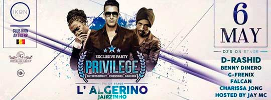 Privilege with L'Algerino | IKON - 06/05/2017