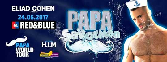 PAPA Party Belgium | Red & Blue - 24/06/2017